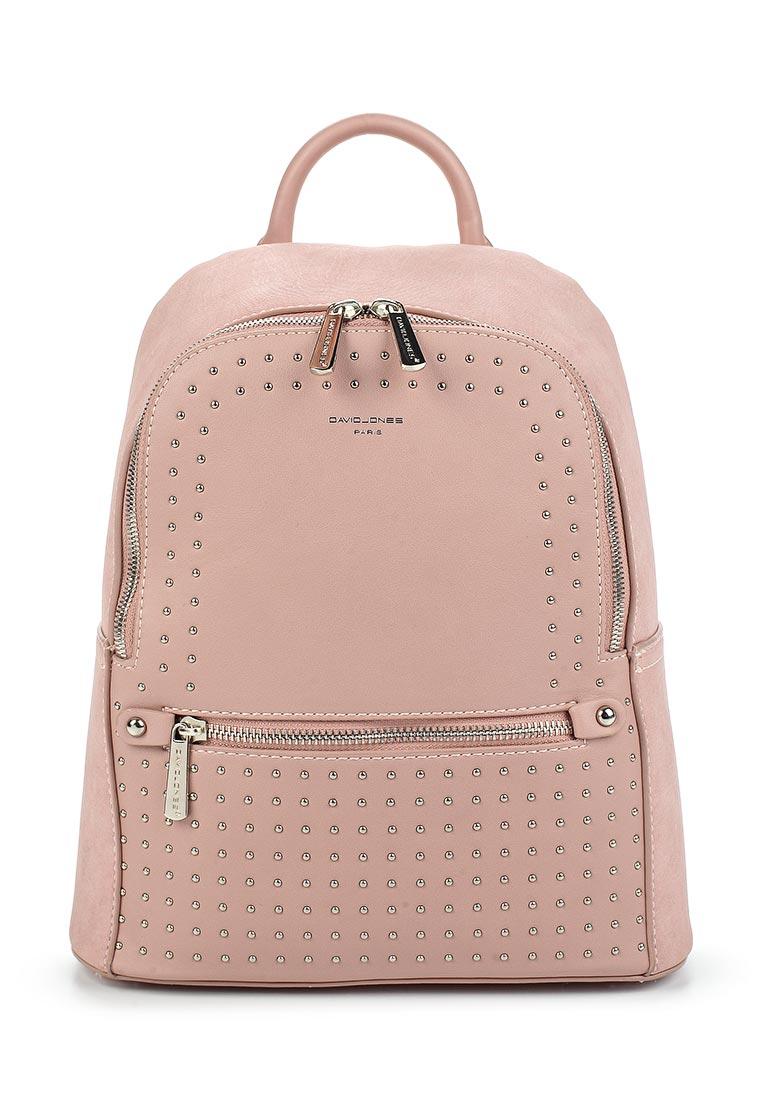 Городской рюкзак David Jones (Дэвид Джонс) СМ3639А_розовый