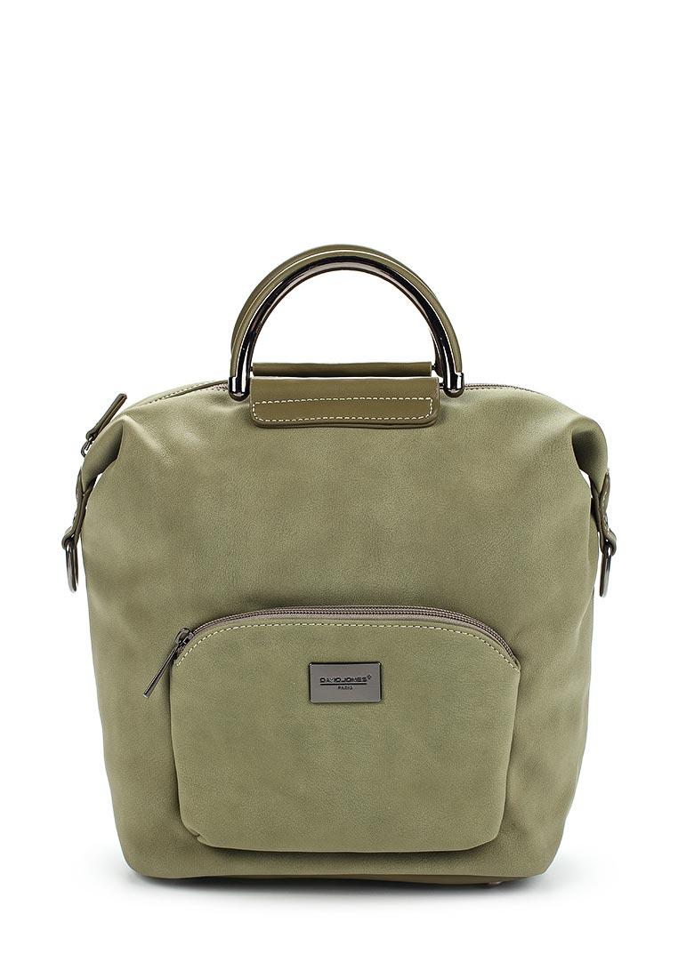 Городской рюкзак David Jones (Дэвид Джонс) СМ3737_зеленый