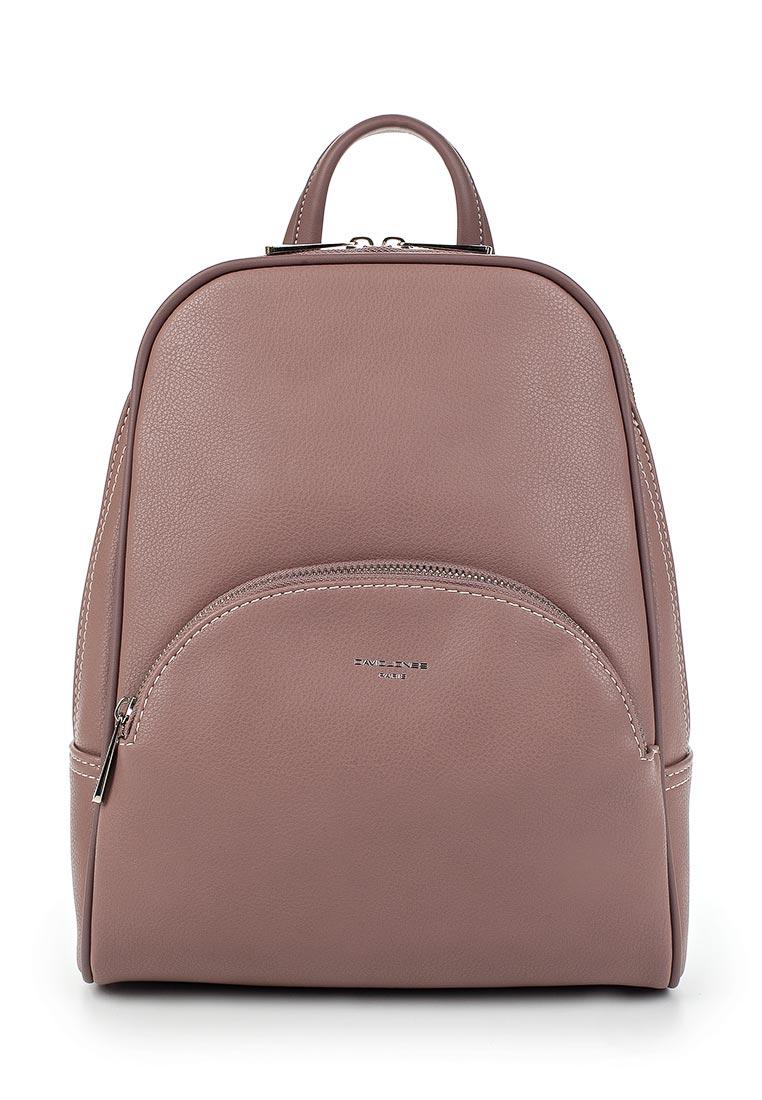 Городской рюкзак David Jones (Дэвид Джонс) СМ3658А_розовый