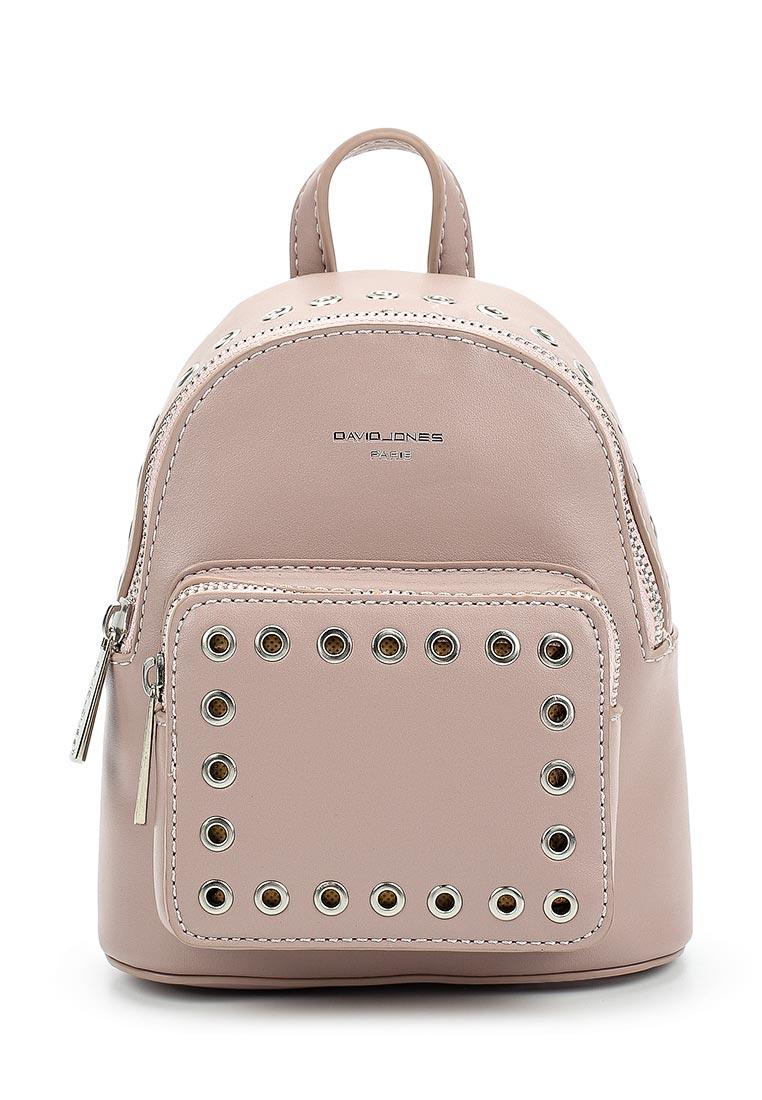 Городской рюкзак David Jones (Дэвид Джонс) СМ3717_розовый