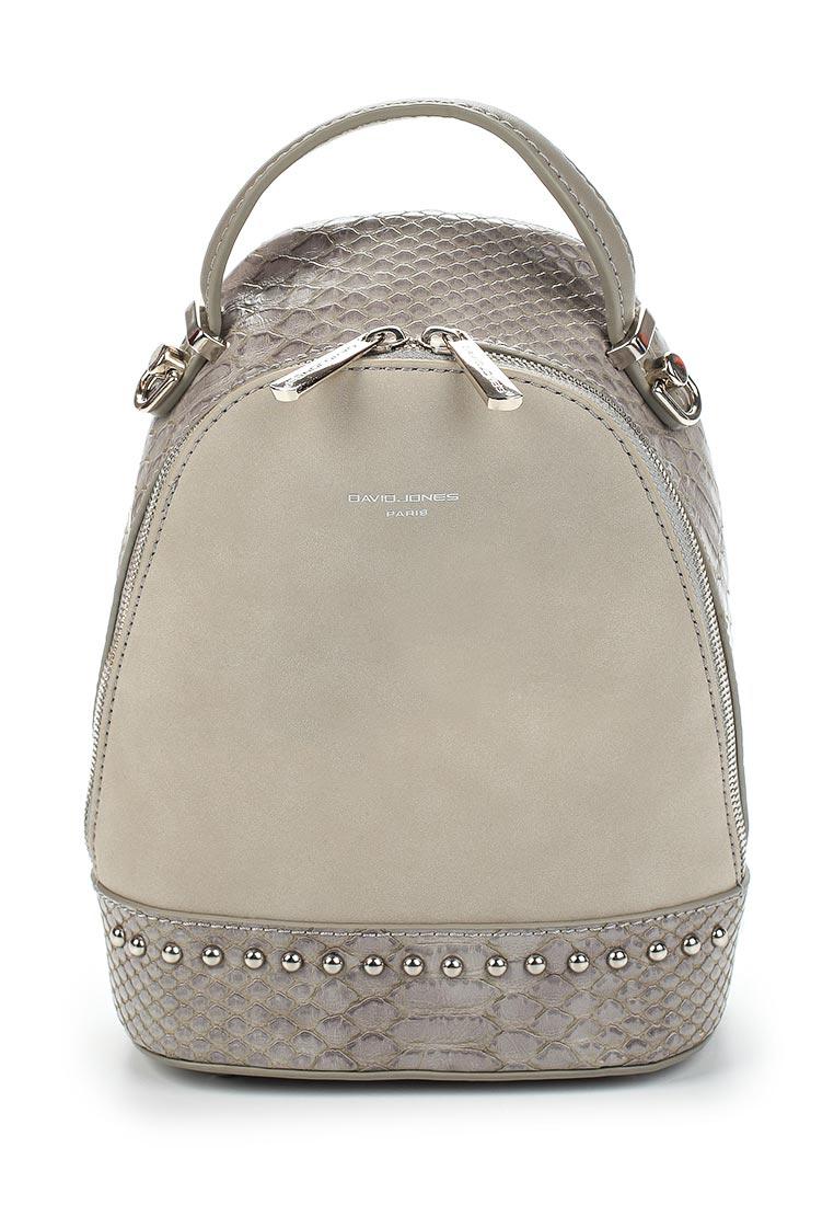 Городской рюкзак David Jones (Дэвид Джонс) СМ3719_серый