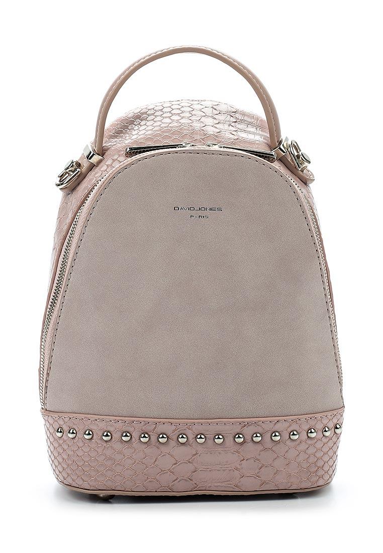 Городской рюкзак David Jones (Дэвид Джонс) СМ3719_розовый