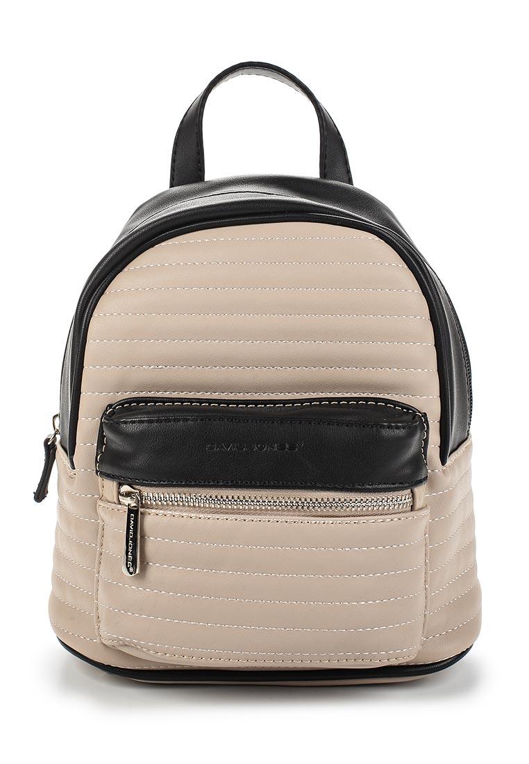 Городской рюкзак David Jones (Дэвид Джонс) СМ3799_бежевый