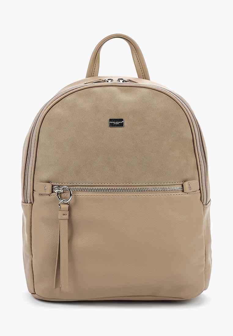 Городской рюкзак David Jones (Дэвид Джонс) 5700-2_кэмел