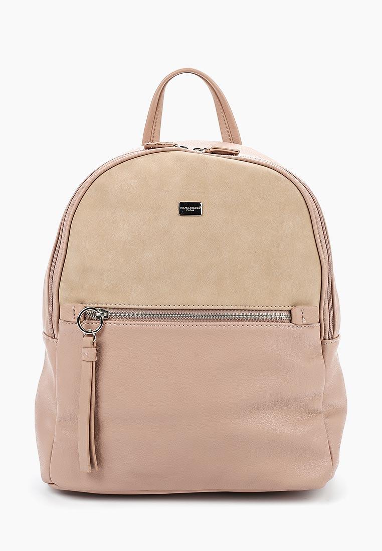 Городской рюкзак David Jones (Дэвид Джонс) 5700-2_розовый