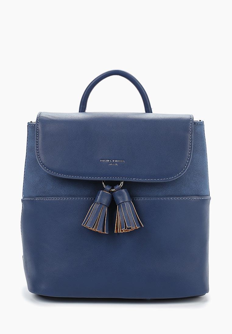 Городской рюкзак David Jones (Дэвид Джонс) CM3702_голубой