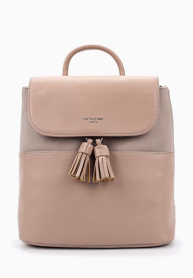 Городской рюкзак David Jones CM3702_розовый