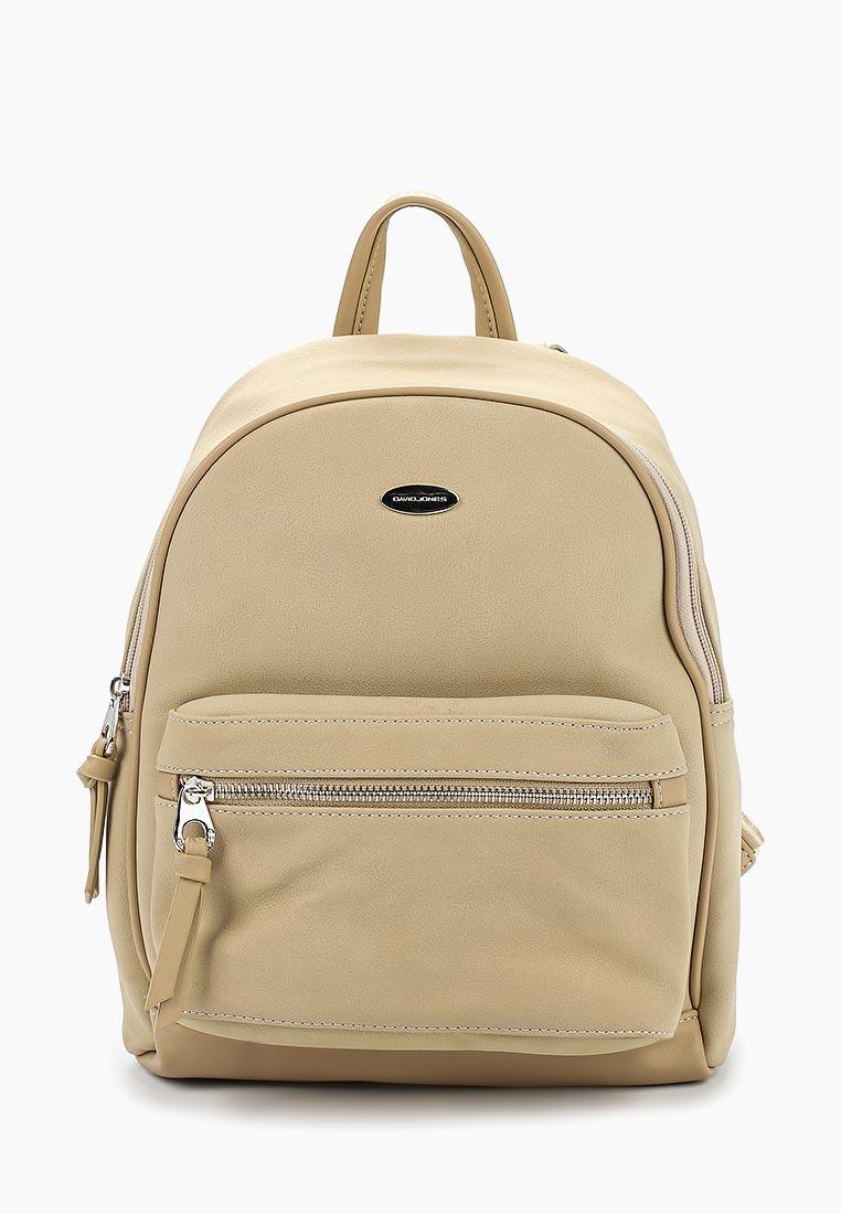 Городской рюкзак David Jones (Дэвид Джонс) CM3708_кэмел