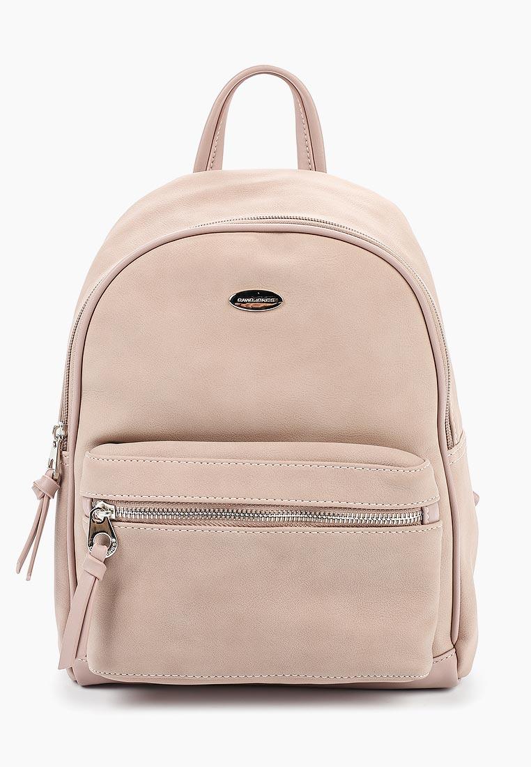 Городской рюкзак David Jones (Дэвид Джонс) CM3708_розовый