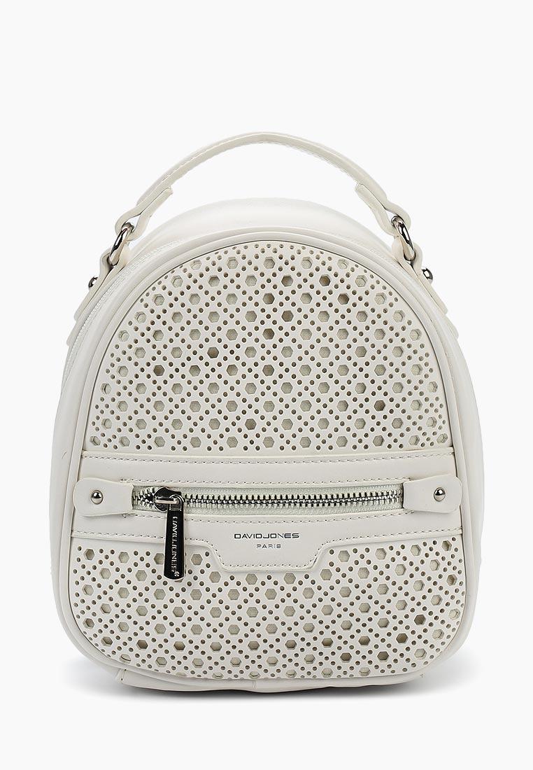 Городской рюкзак David Jones (Дэвид Джонс) CM3775_белый