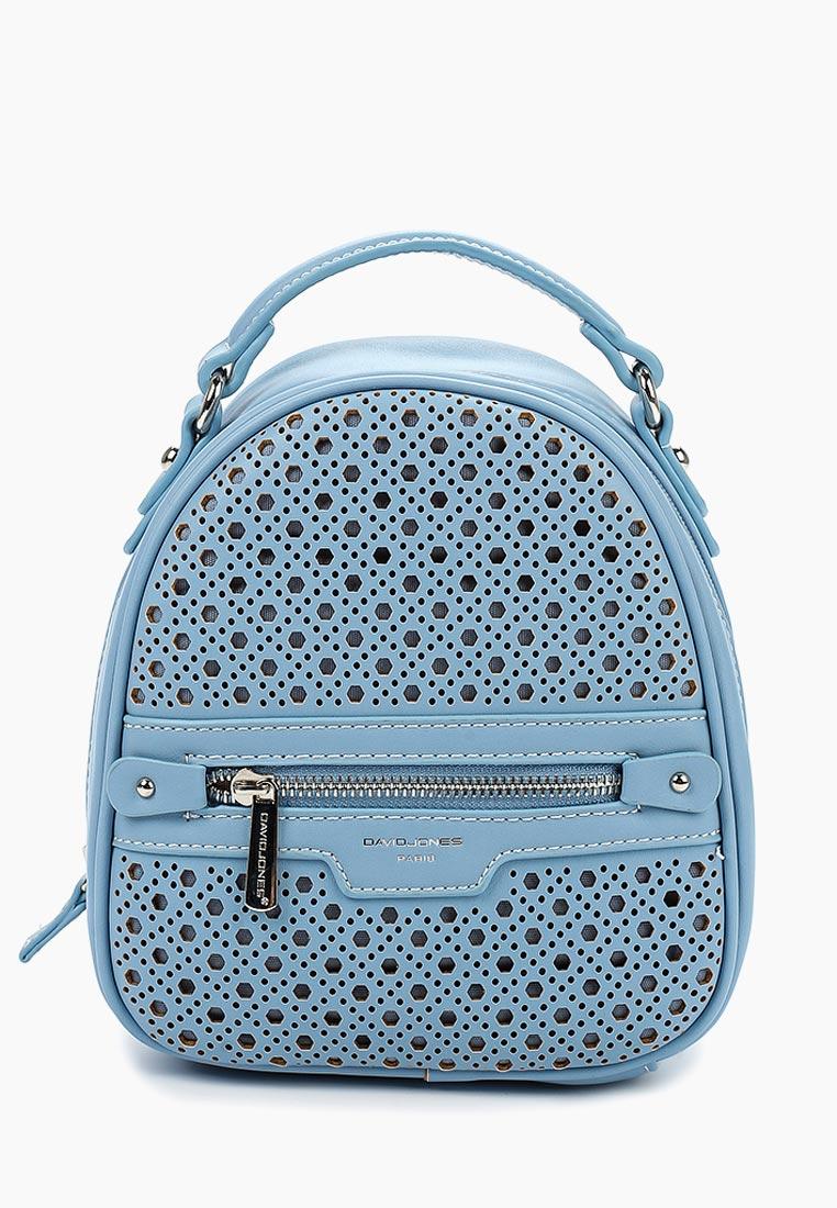 Городской рюкзак David Jones (Дэвид Джонс) CM3775_голубой