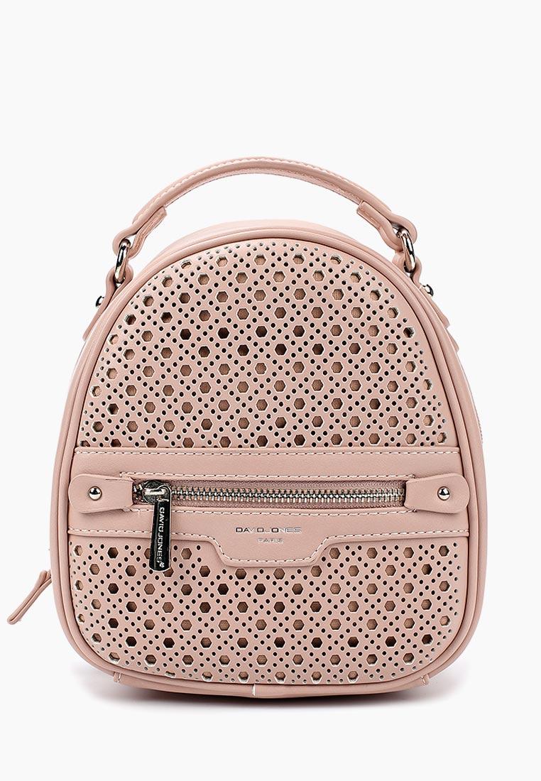 Городской рюкзак David Jones (Дэвид Джонс) CM3775_розовый