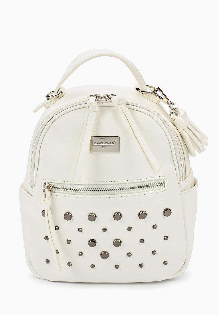 Городской рюкзак David Jones (Дэвид Джонс) CM3782_белый