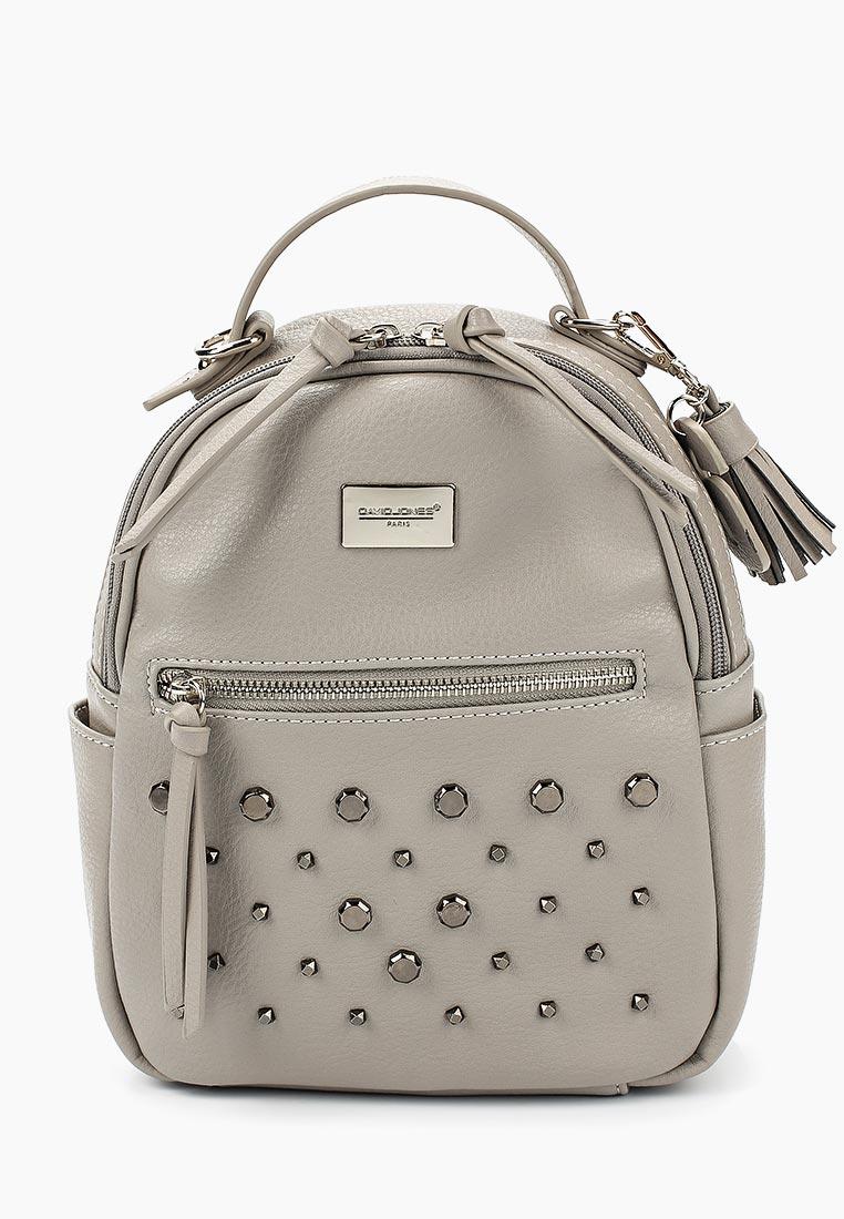 Городской рюкзак David Jones (Дэвид Джонс) CM3782_серый