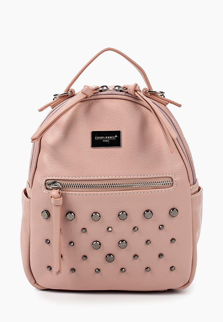 Городской рюкзак David Jones (Дэвид Джонс) CM3782_розовый