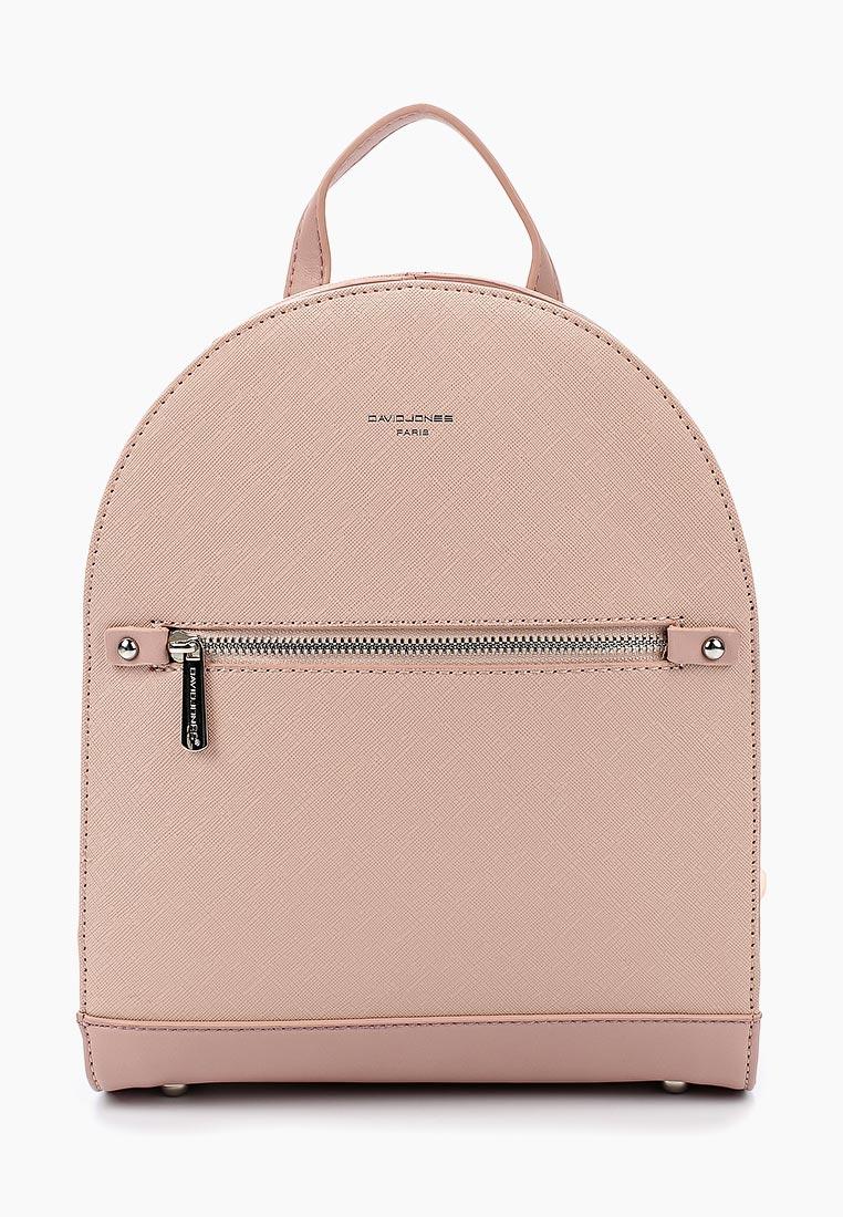 Городской рюкзак David Jones (Дэвид Джонс) CM3814_розовый