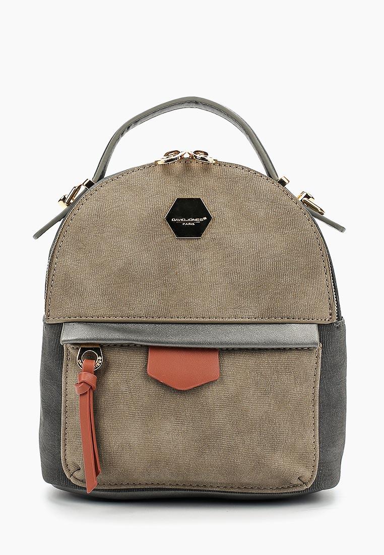Городской рюкзак David Jones (Дэвид Джонс) СМ3539А_серый