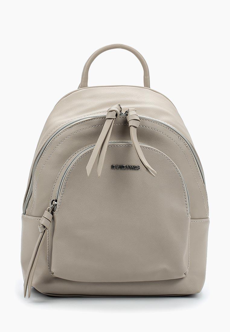 Городской рюкзак David Jones (Дэвид Джонс) СМ3656А_серый