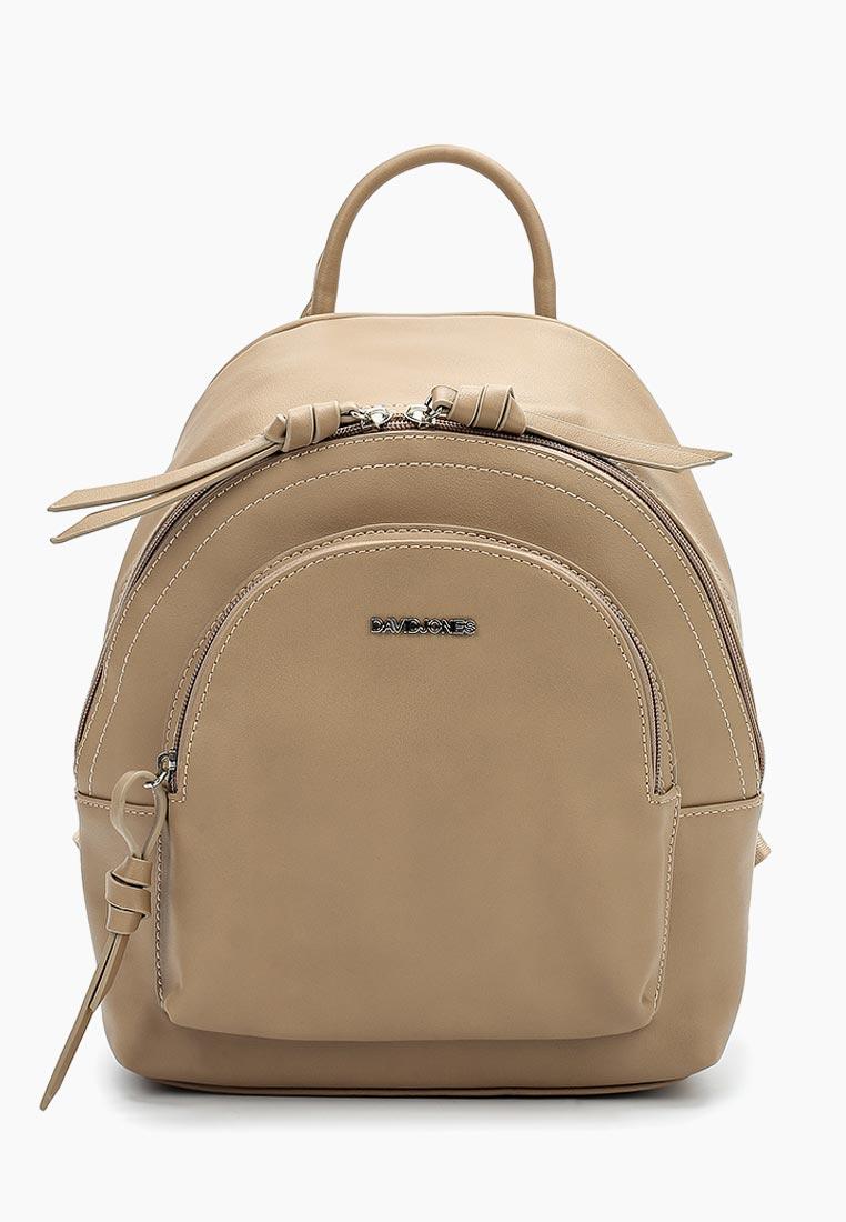 Городской рюкзак David Jones (Дэвид Джонс) СМ3656А_кэмел
