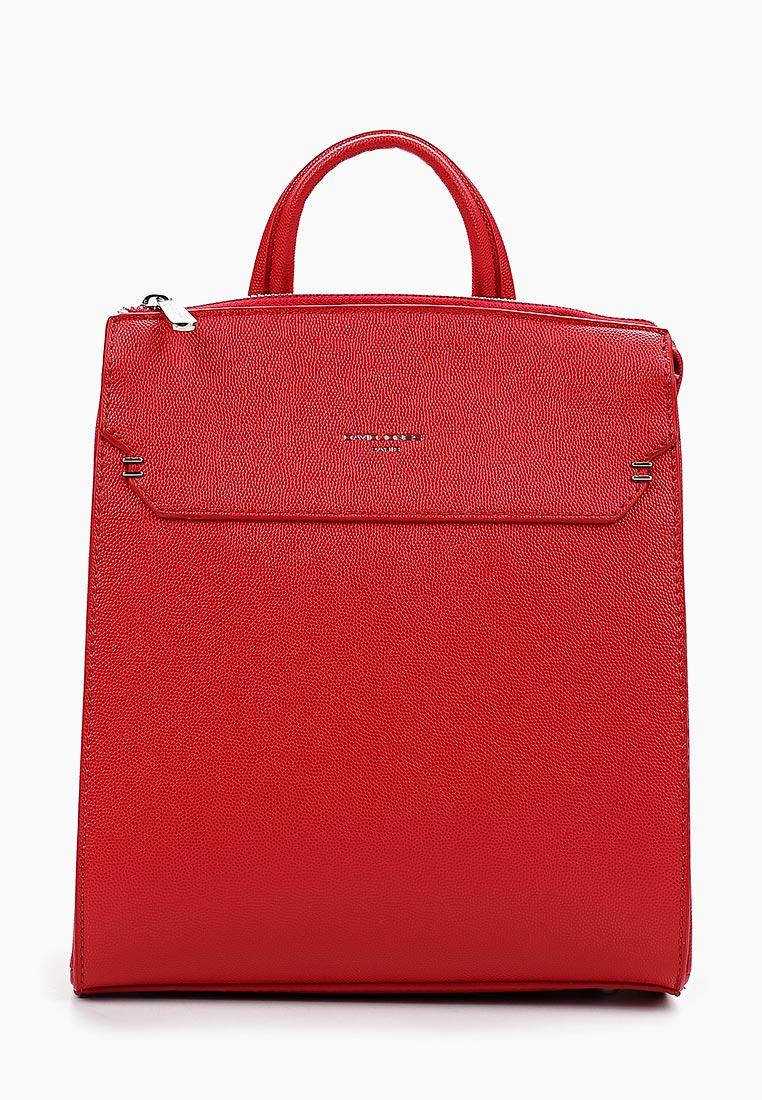 Городской рюкзак David Jones (Дэвид Джонс) 5762-2_красный