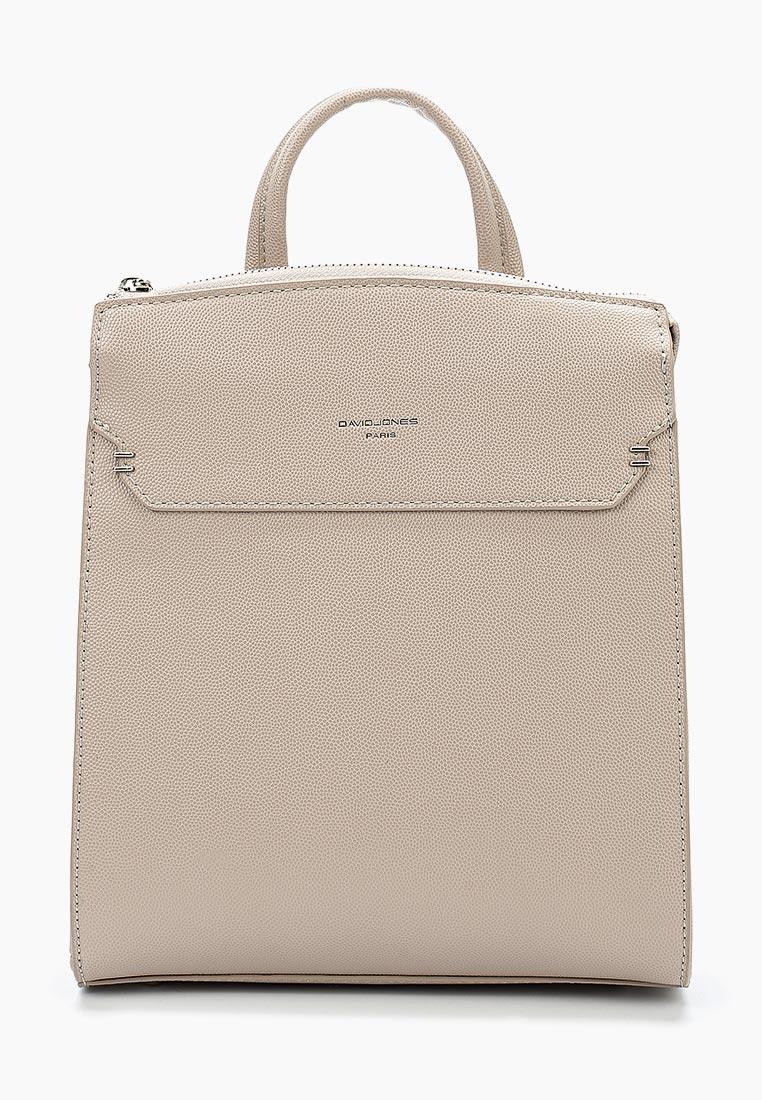 Городской рюкзак David Jones (Дэвид Джонс) 5762-2_бежевый
