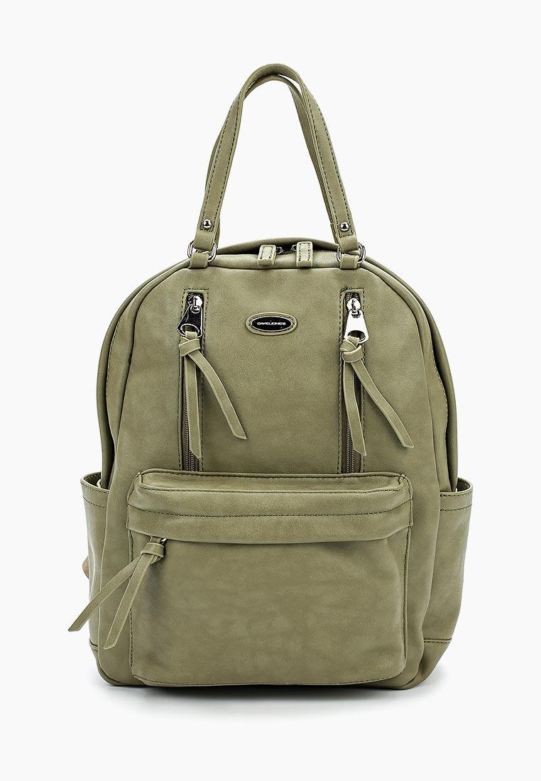 Городской рюкзак David Jones (Дэвид Джонс) CM3773_зеленый