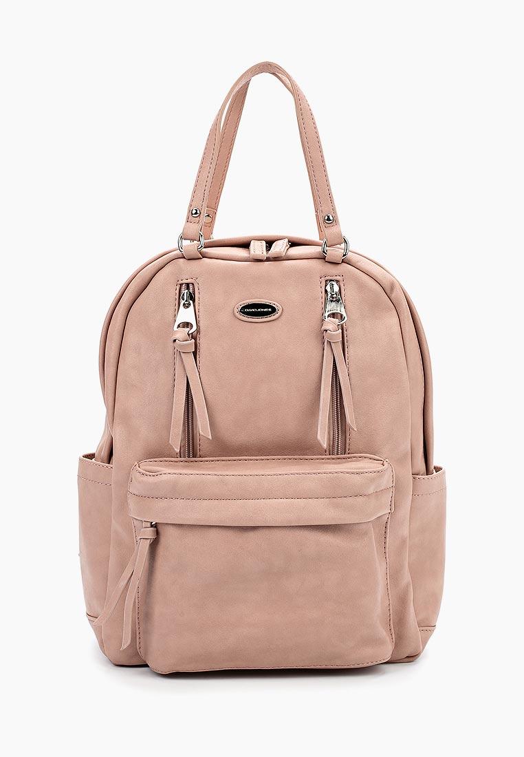 Городской рюкзак David Jones (Дэвид Джонс) CM3773_розовый