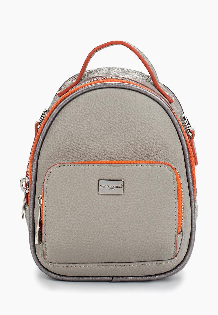 Городской рюкзак David Jones (Дэвид Джонс) CM3790_серый