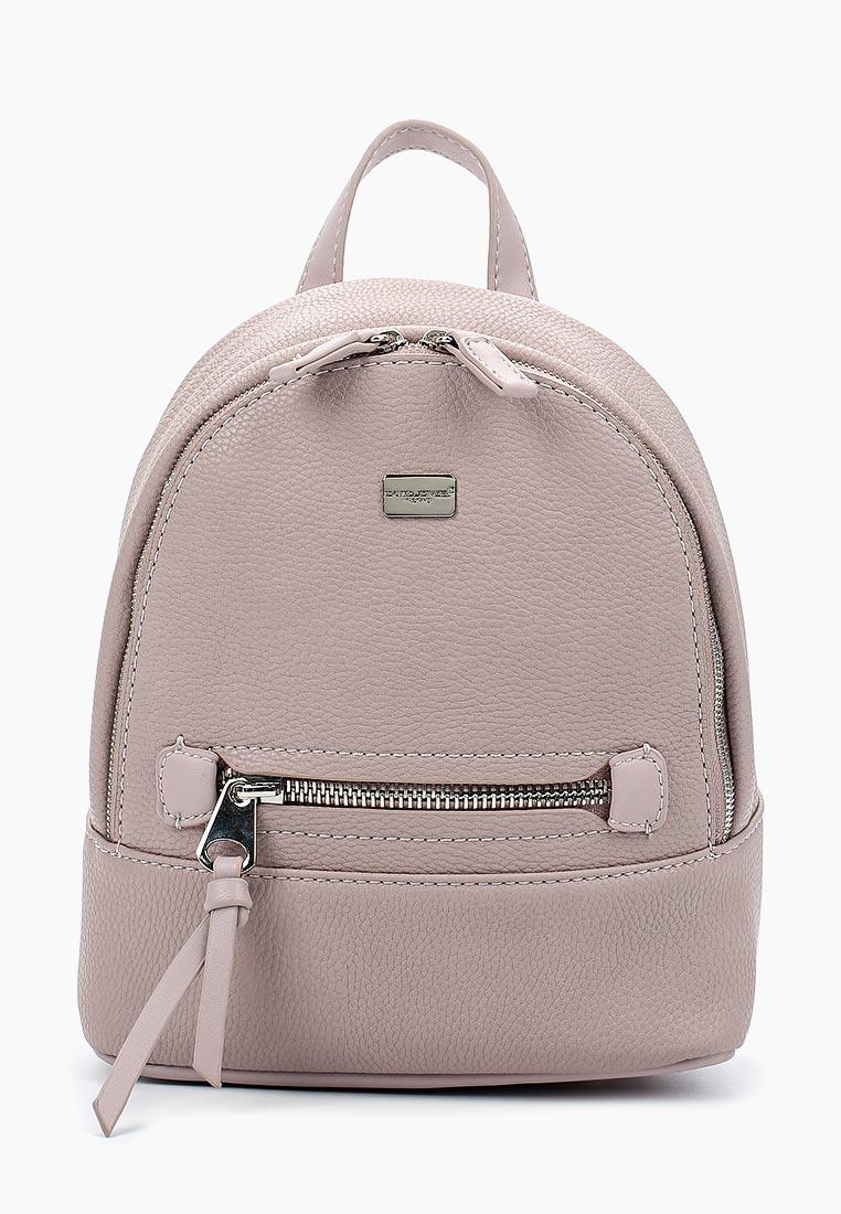 Городской рюкзак David Jones (Дэвид Джонс) 5701-3_розовый