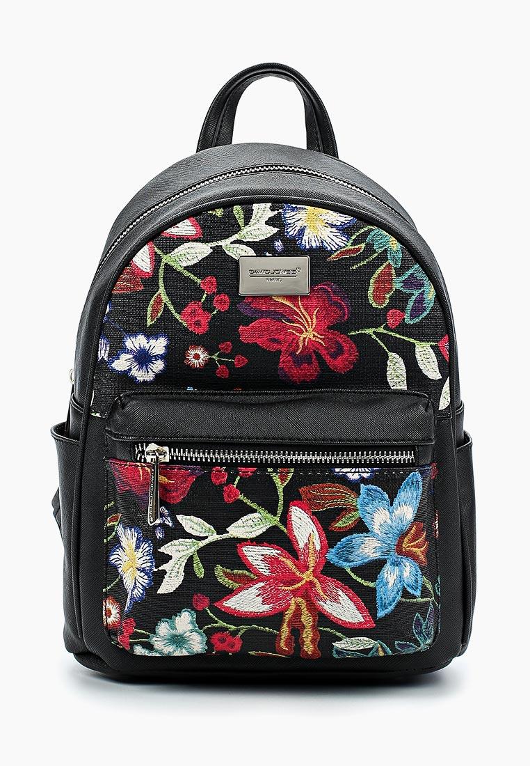Городской рюкзак David Jones (Дэвид Джонс) 5702-4_черный