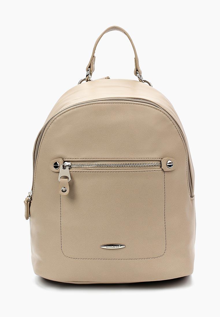 Городской рюкзак David Jones (Дэвид Джонс) 5675А-2_кэмел