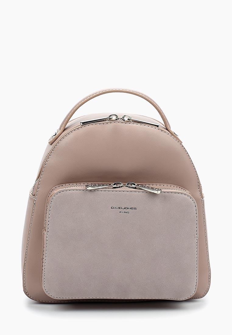 Городской рюкзак David Jones (Дэвид Джонс) СМ3739_розовый