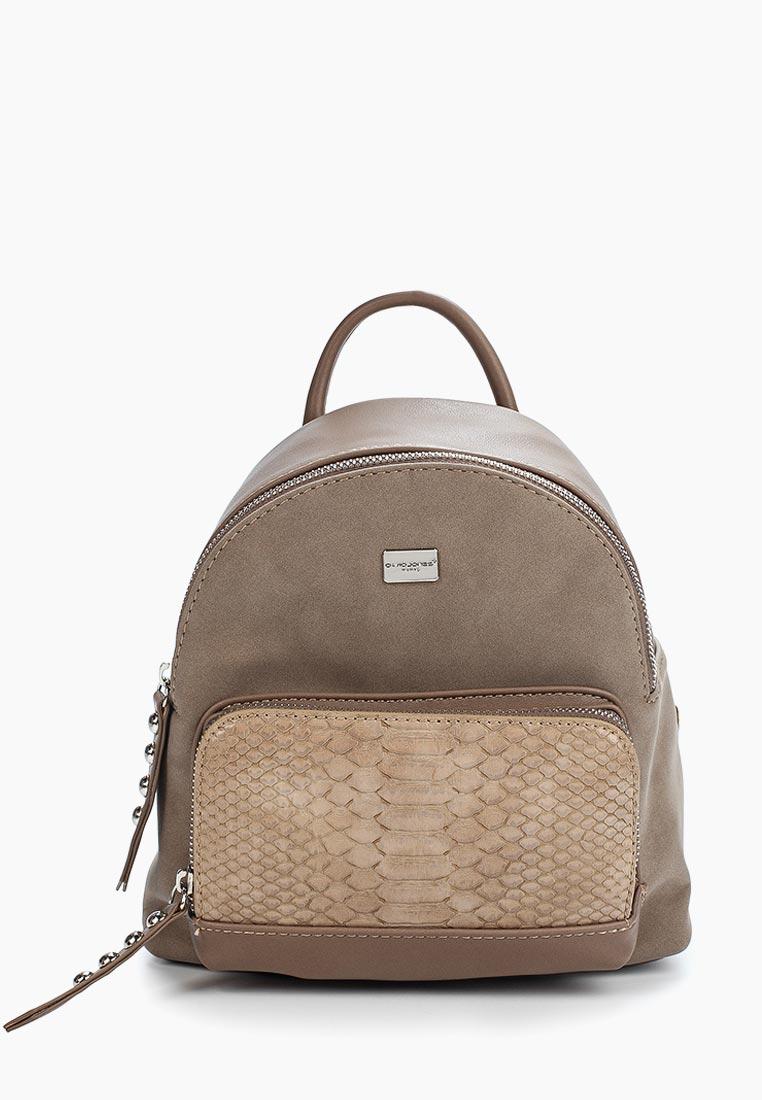 Городской рюкзак David Jones (Дэвид Джонс) СМ3552А_кэмел