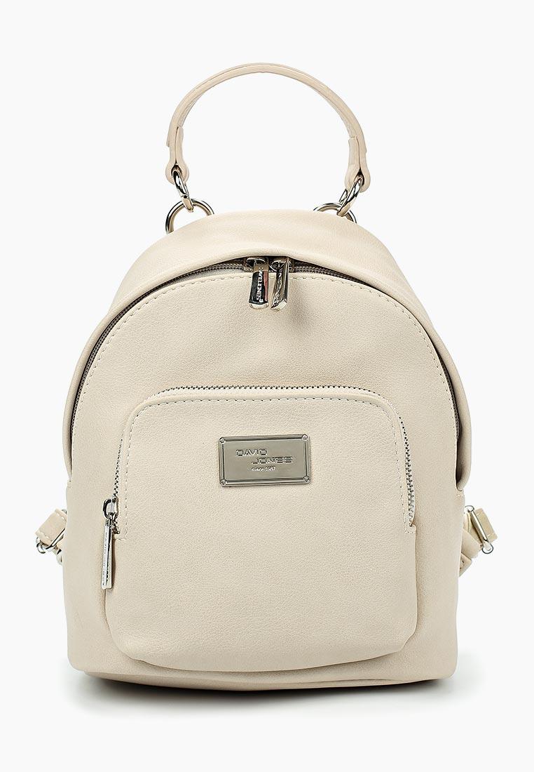 Городской рюкзак David Jones (Дэвид Джонс) СМ3740_бежевый