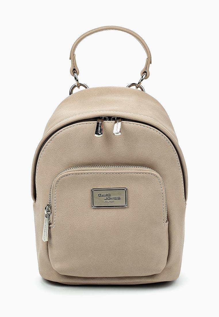 Городской рюкзак David Jones (Дэвид Джонс) СМ3740_кэмел