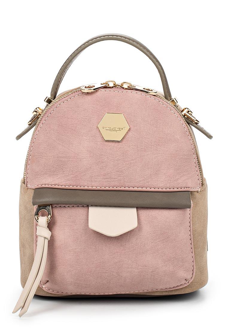 Городской рюкзак David Jones (Дэвид Джонс) СМ3349_розовый