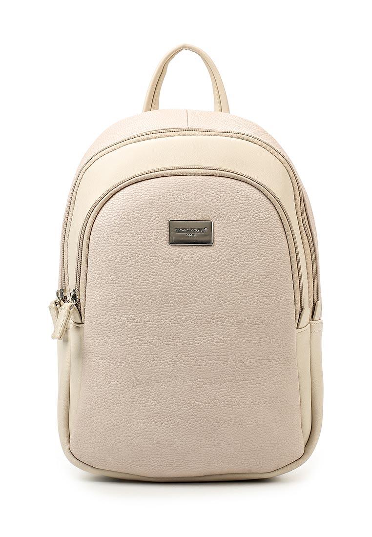 Городской рюкзак David Jones (Дэвид Джонс) СМ3374_бежевый