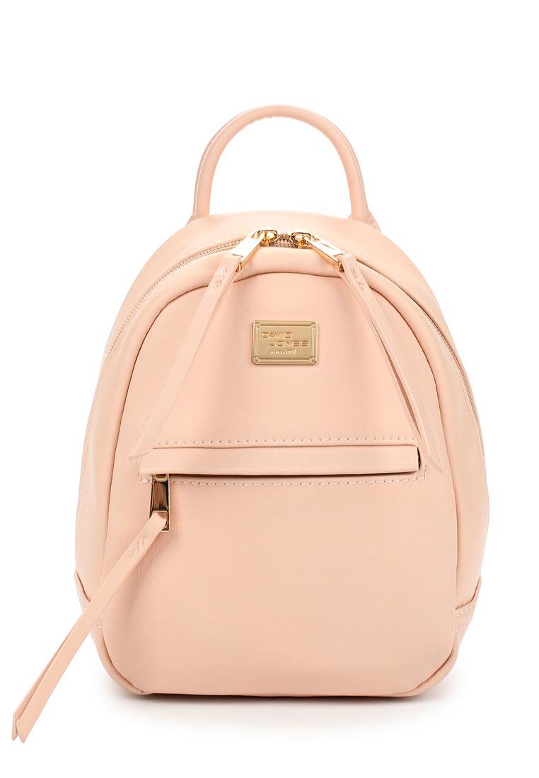 Городской рюкзак David Jones (Дэвид Джонс) СМ3391_розовый