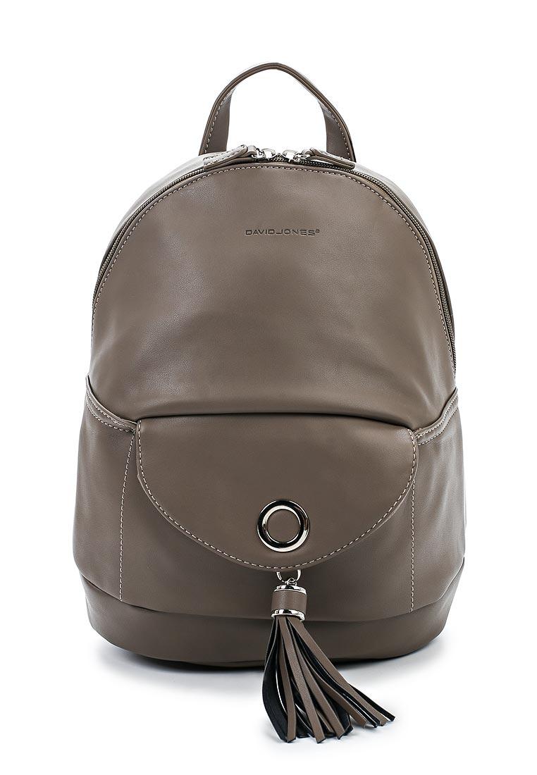 Городской рюкзак David Jones (Дэвид Джонс) 5637-4_кофе