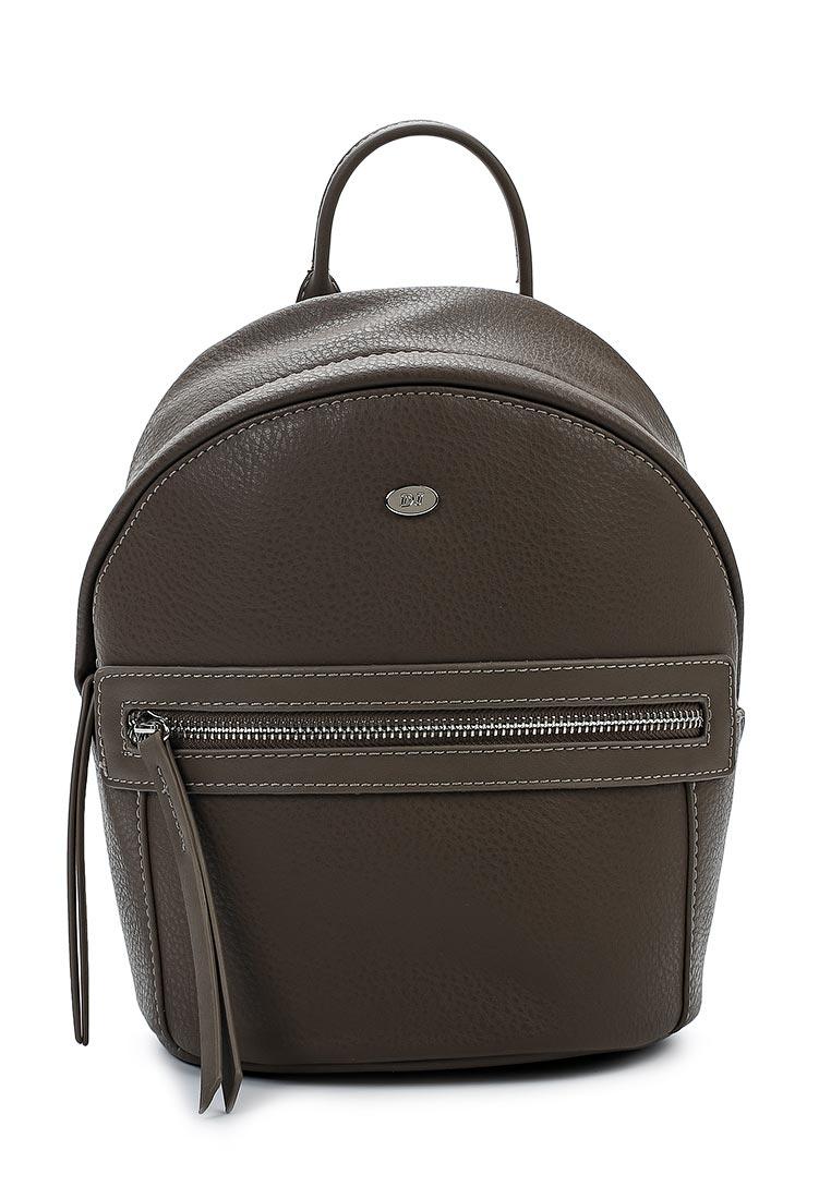 Городской рюкзак David Jones (Дэвид Джонс) СМ3520_кофе