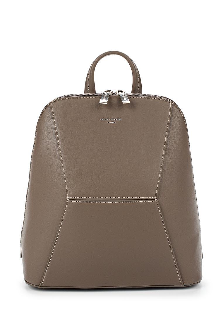 Городской рюкзак David Jones (Дэвид Джонс) 5604-3_кофе