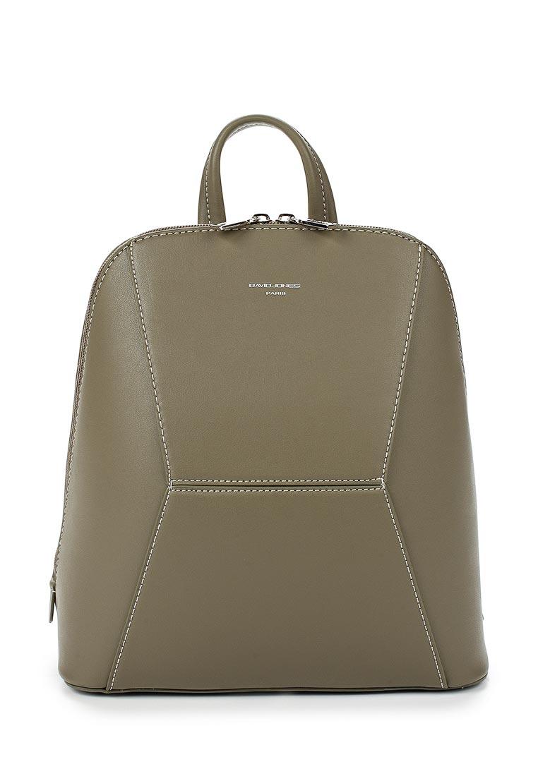 Городской рюкзак David Jones (Дэвид Джонс) 5604-3_зеленый