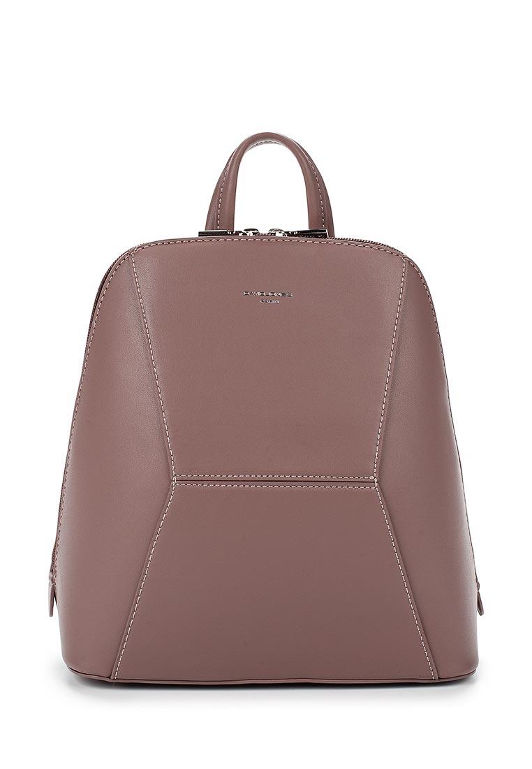 Городской рюкзак David Jones (Дэвид Джонс) 5604-3_розовый