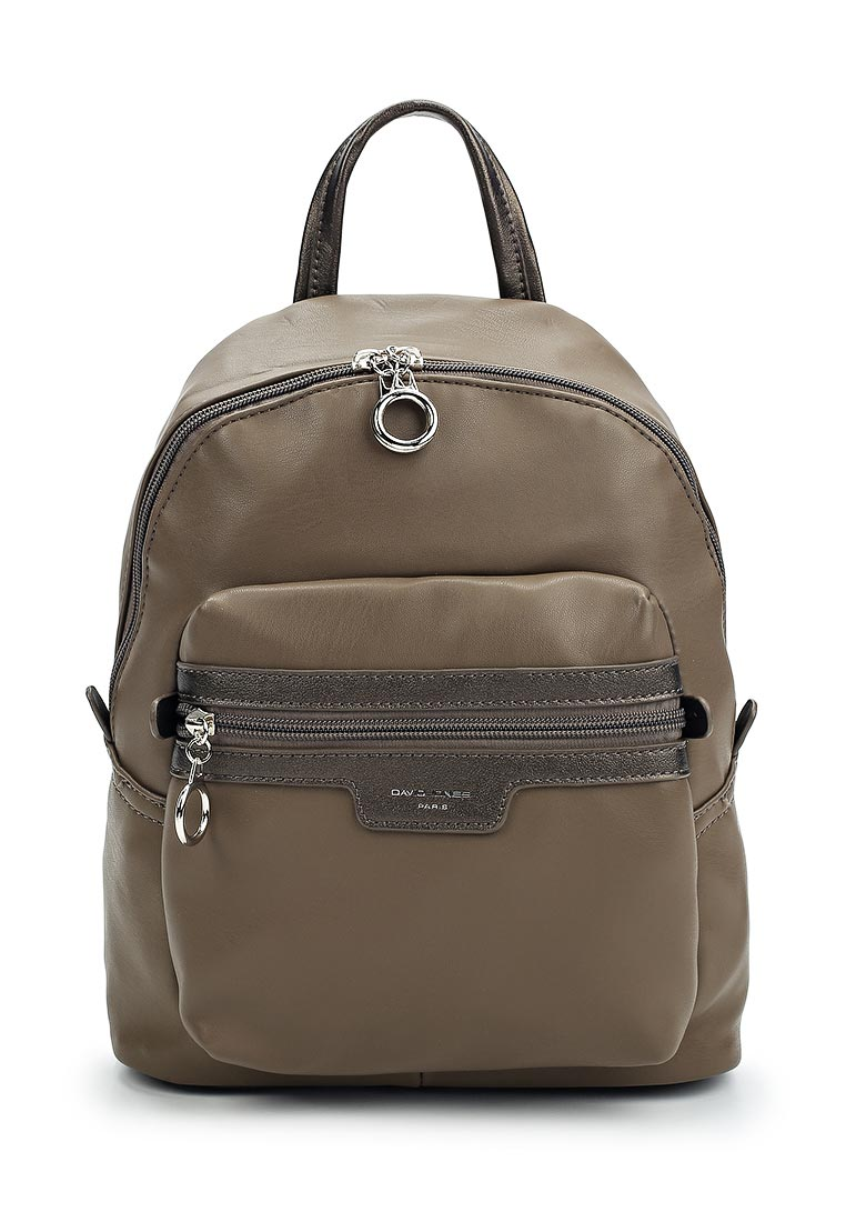 Городской рюкзак David Jones (Дэвид Джонс) СМ3530_кофе