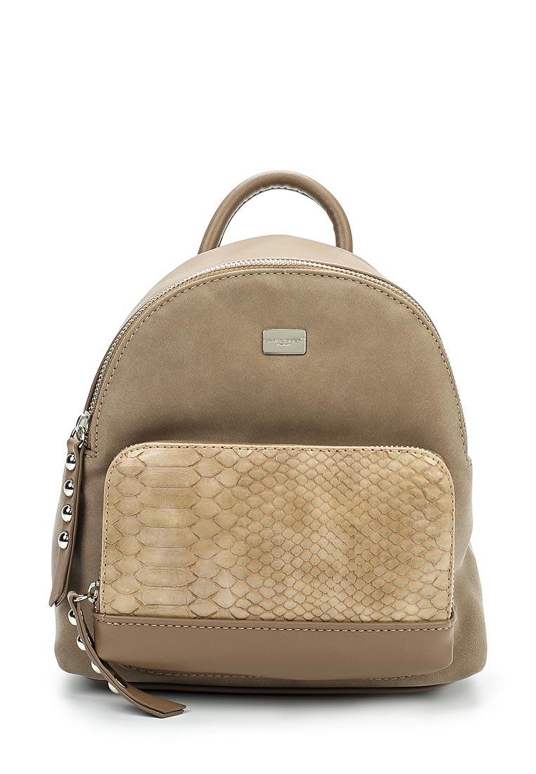 Городской рюкзак David Jones (Дэвид Джонс) СМ3552_кэмел