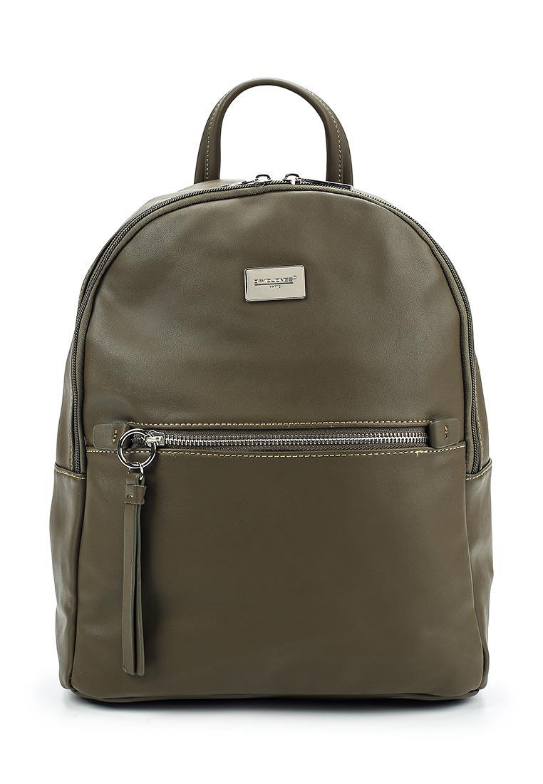 Городской рюкзак David Jones (Дэвид Джонс) 5600-2_зеленый