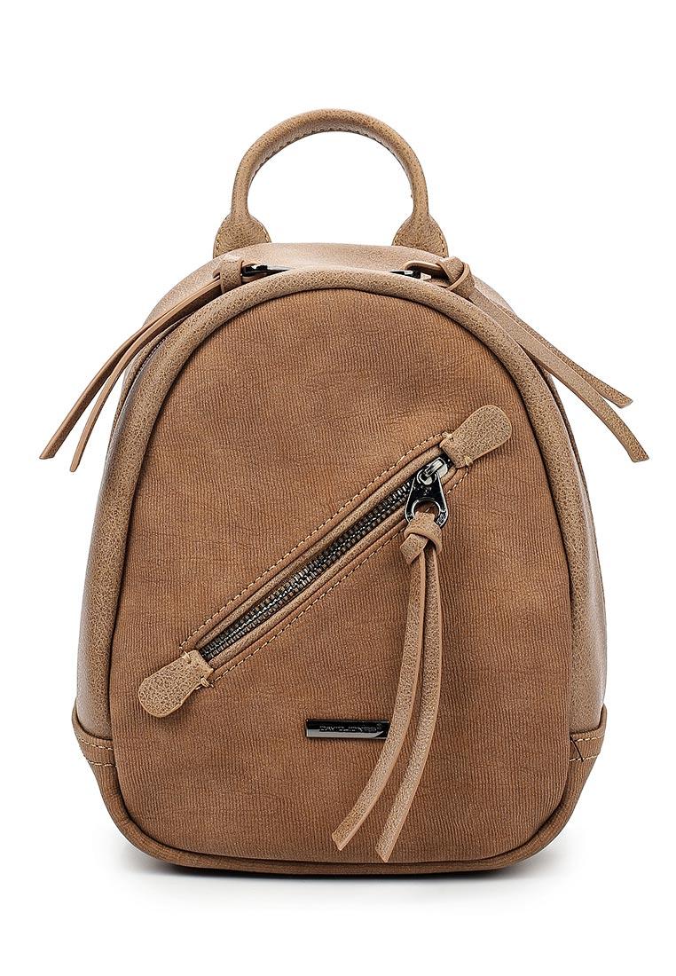 Городской рюкзак David Jones (Дэвид Джонс) 5656-3_коричневый