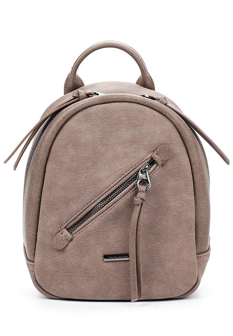 Городской рюкзак David Jones (Дэвид Джонс) 5656-3_розовый