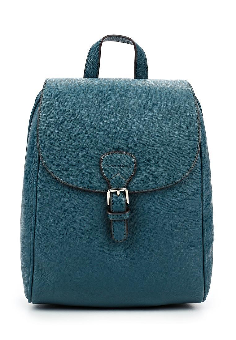 Городской рюкзак David Jones (Дэвид Джонс) СМ3231_бирюзовый