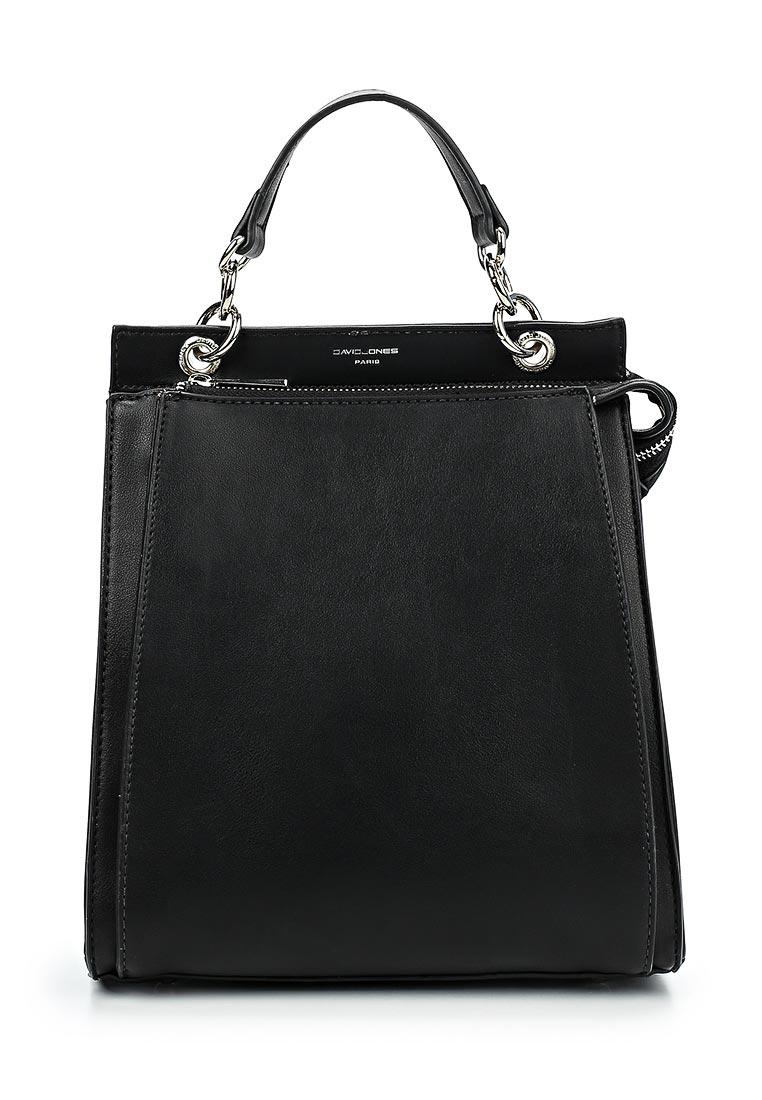 Городской рюкзак David Jones (Дэвид Джонс) 5654-2_черный